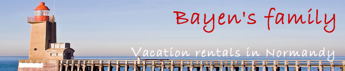 normandy vacation rentals, normandy fecamp self catering, yport furnished rentals - bayen's family